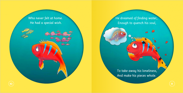 """EarthHero - """"The Fish Who Searched for Water"""" Children's Book - 3"""