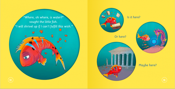 """EarthHero - """"The Fish Who Searched for Water"""" Children's Book - 4"""