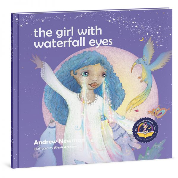 """EarthHero - """"The Girl with Waterfall Eyes"""" Children's Book - 1"""