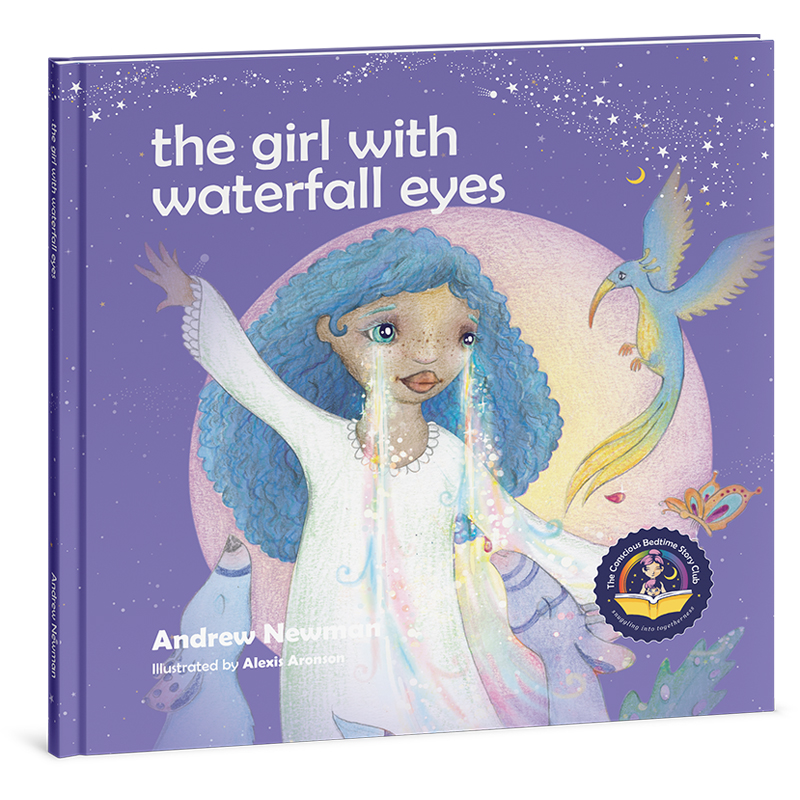 "EarthHero - ""The Girl with Waterfall Eyes"" Children's Book - 1"