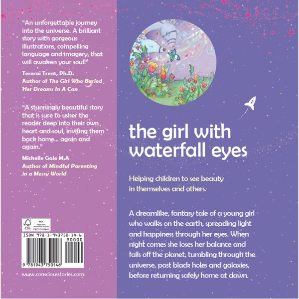 """EarthHero - """"The Girl with Waterfall Eyes"""" Children's Book - 2"""