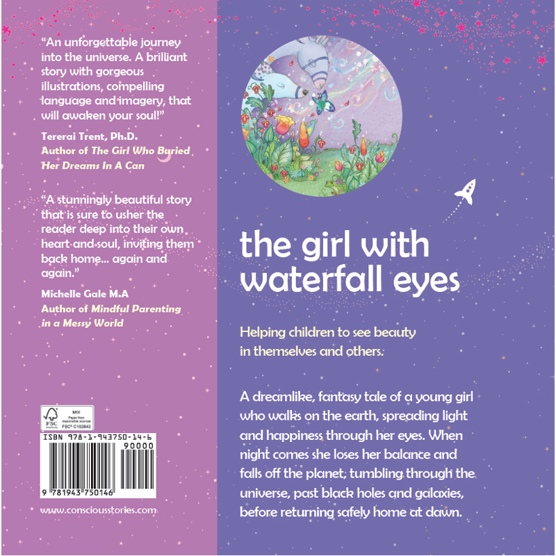"EarthHero - ""The Girl with Waterfall Eyes"" Children's Book - 2"