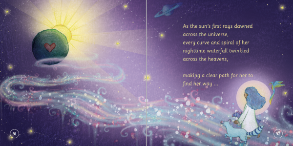"""EarthHero - """"The Girl with Waterfall Eyes"""" Children's Book - 3"""