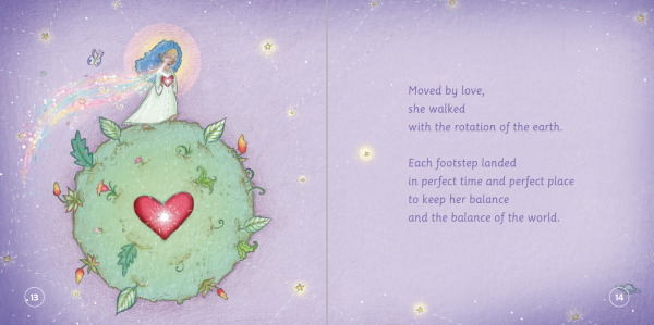 """EarthHero - """"The Girl with Waterfall Eyes"""" Children's Book - 5"""