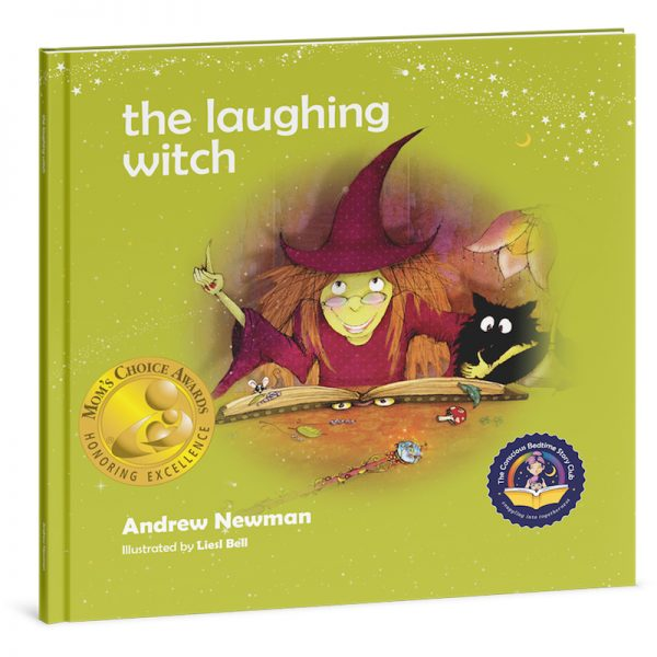 """EarthHero - """"The Laughing Witch"""" Children's Book - 1"""