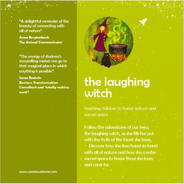 """EarthHero - """"The Laughing Witch"""" Children's Book - 2"""