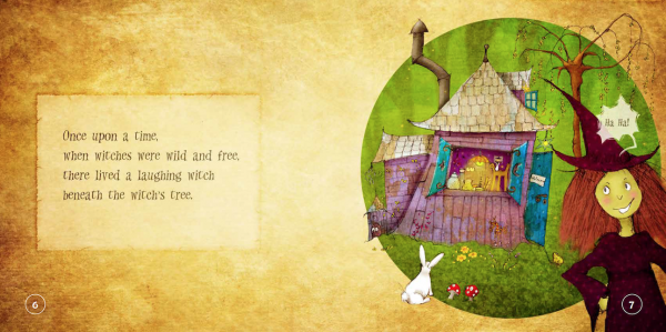 """EarthHero - """"The Laughing Witch"""" Children's Book - 3"""