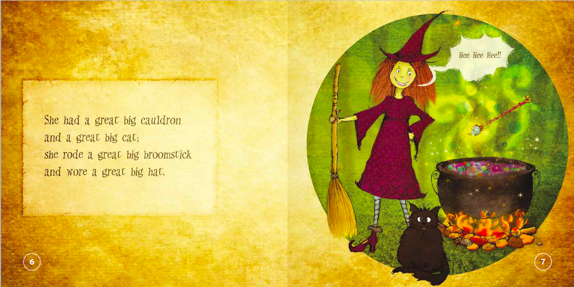 "EarthHero - ""The Laughing Witch"" Children's Book - 4"