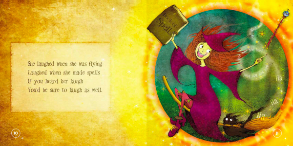 """EarthHero - """"The Laughing Witch"""" Children's Book - 5"""
