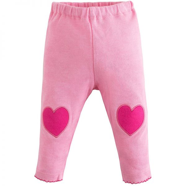 EarthHero - Heart Patch Baby Leggings 1