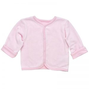 EarthHero - Reversible Pink Baby Sweater 1