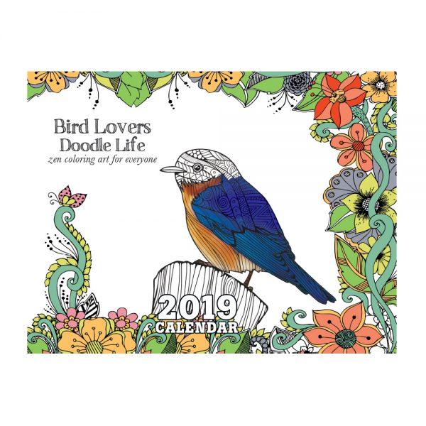 EarthHero - Bird Lovers Coloring Calendar 1