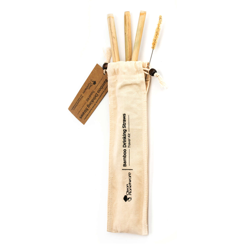 EarthHero - Bamboo Straw Travel Kit - 1