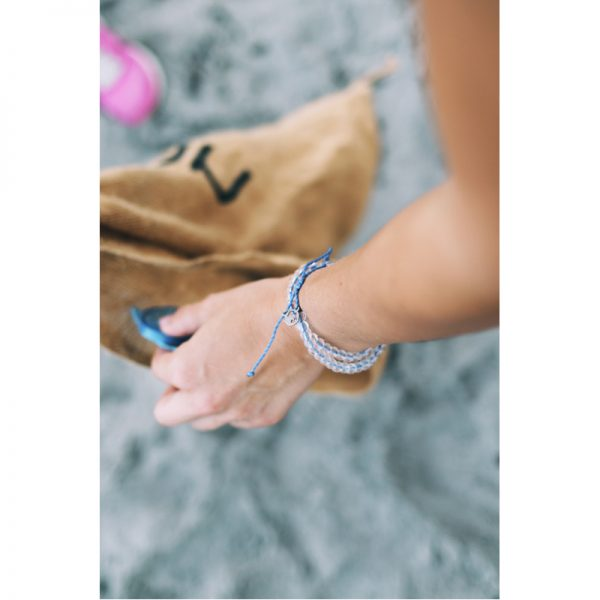 EarthHero - 4Ocean Recycled Signature Blue Bracelet 2