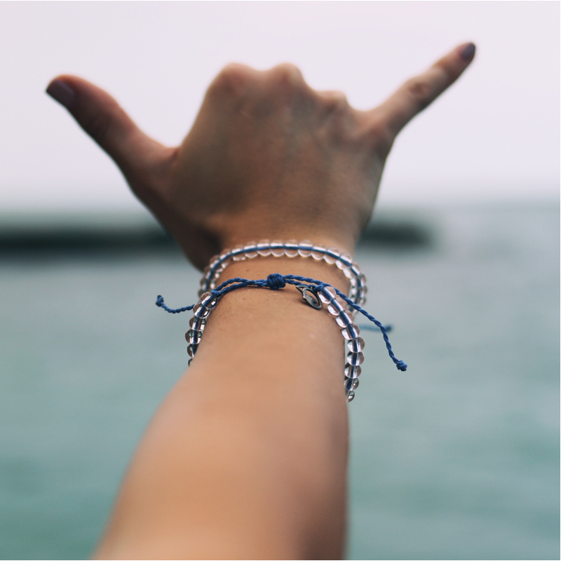 EarthHero - 4Ocean Recycled Signature Blue Bracelet 5