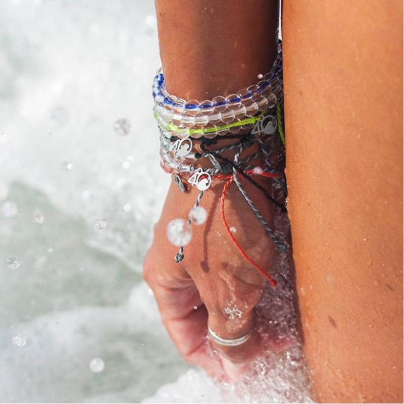 EarthHero - 4Ocean Recycled Signature Blue Bracelet 6