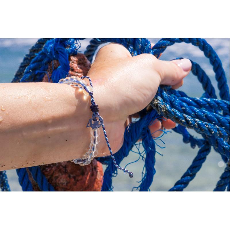 EarthHero - 4Ocean Recycled Whales Bracelet 2