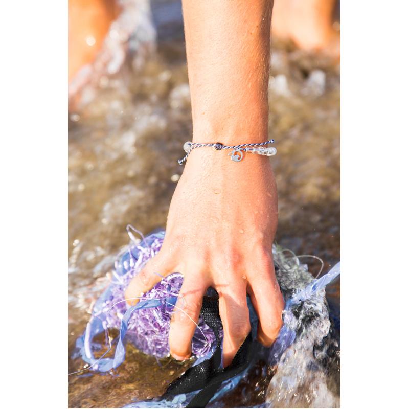 EarthHero - 4Ocean Recycled Whales Bracelet 4