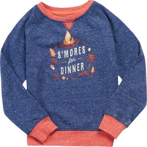 EarthHero - Kid's S'Mores Organic Cotton Pullover - 1