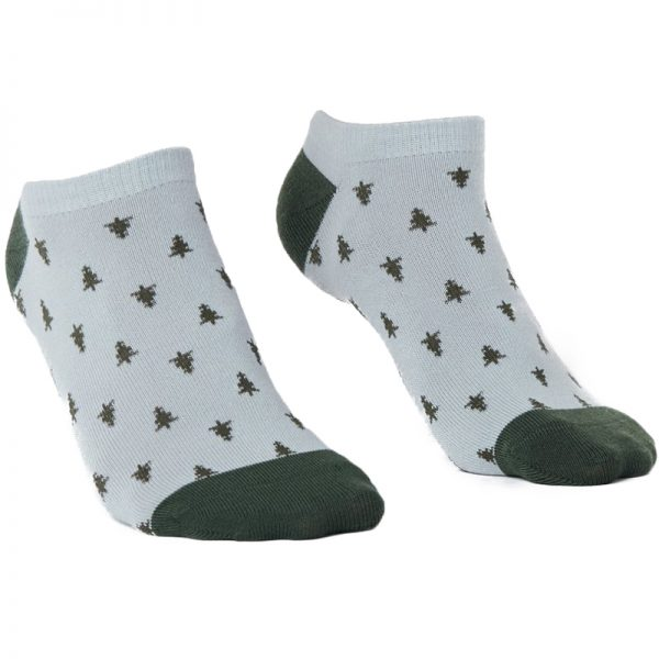 EarthHero - 2-Pack Forest/Lunar Recycled Polyester Ankle Socks - 3