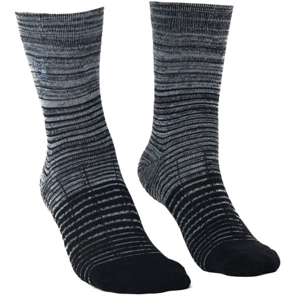 EarthHero - 2-Pack Recycled Polyester Crew Socks - 3