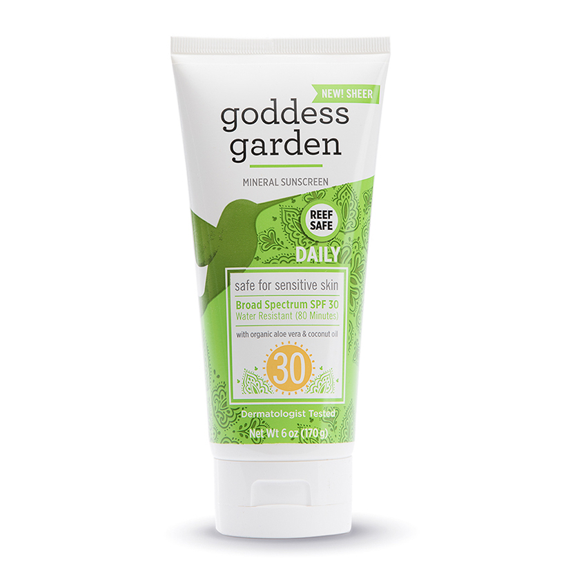 EarthHero - Goddess Garden Natural Sunscreen SPF 30 - 6 oz
