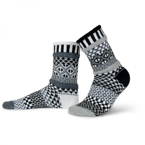 EarthHero - Midnight Crew Cut Solmate Socks - 1
