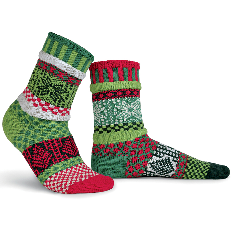 EarthHero - Mistletoe Crew Cut Solmate Socks