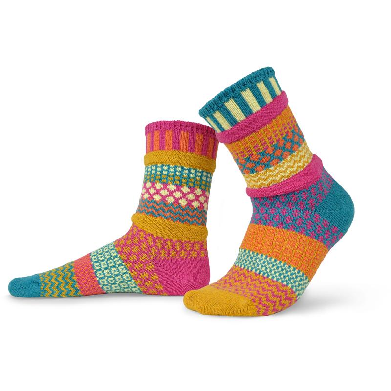 EarthHero - Saffron Crew Cut Solmate Socks - 1