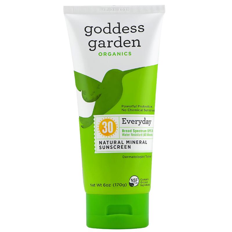 Goddess Garden Natural Sunscreen Spf 30 6 Oz Goddess Garden Earthhero