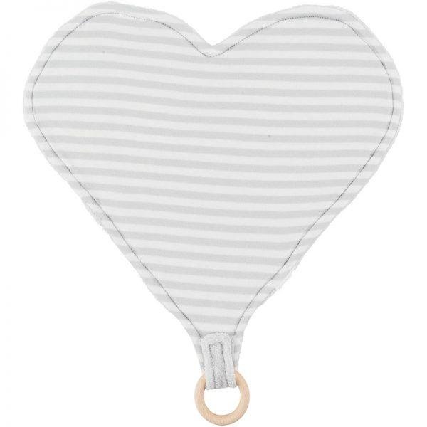 EarthHero - Heart Lovey Teething Toy - 1