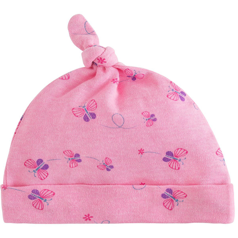 EarthHero - Knot Top Bella Butterfly Baby Beanie - 1