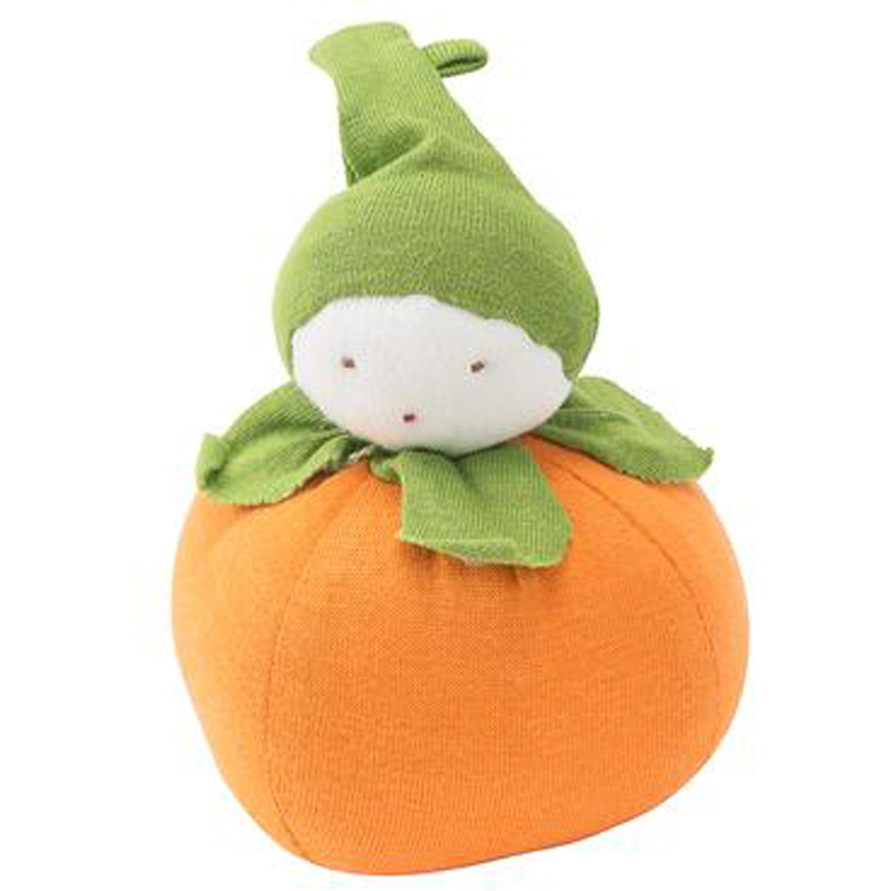 EarthHero - Organic Orange Plush Toy - 1