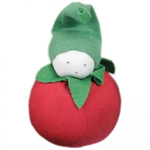 EarthHero - Organic Tomato Plush Toy - 1
