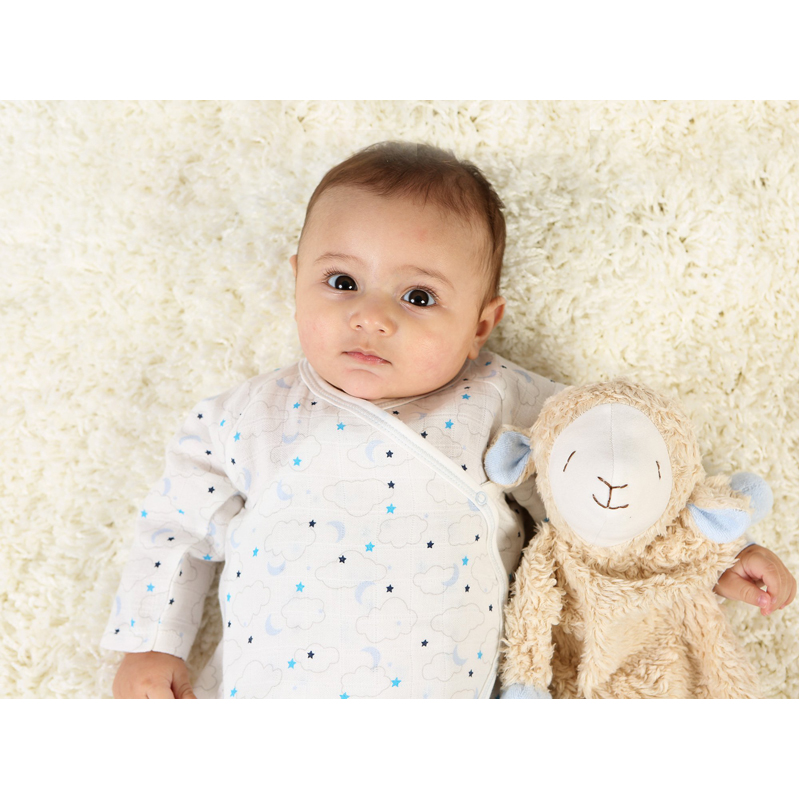 EarthHero - Organic Snuggle Sheep Plush Toy - 2