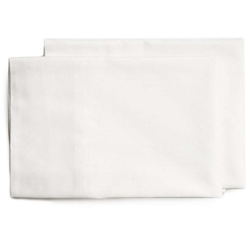 EarthHero - Organic Plain Pillow Cases - White