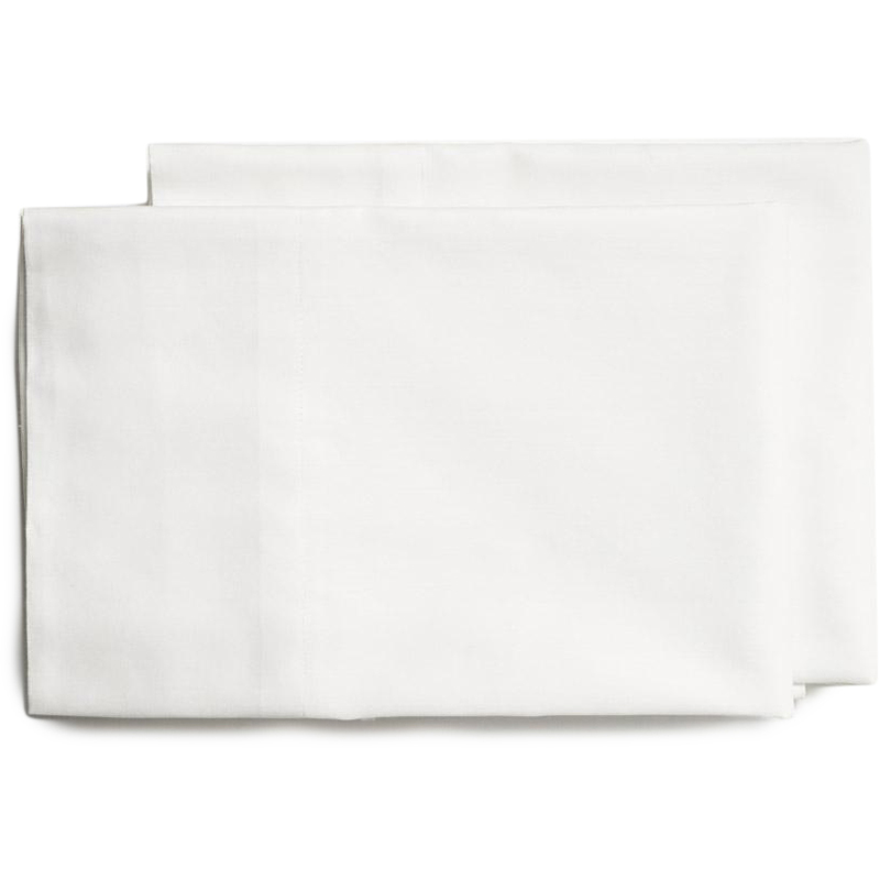 EarthHero - Organic Percale Pillow Cases - White