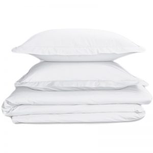 EarthHero - Organic Percale Duvet Cover - White