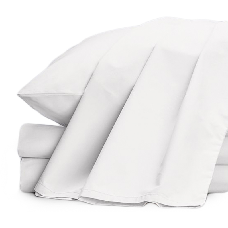 EarthHero - Organic Percale Sheets - White