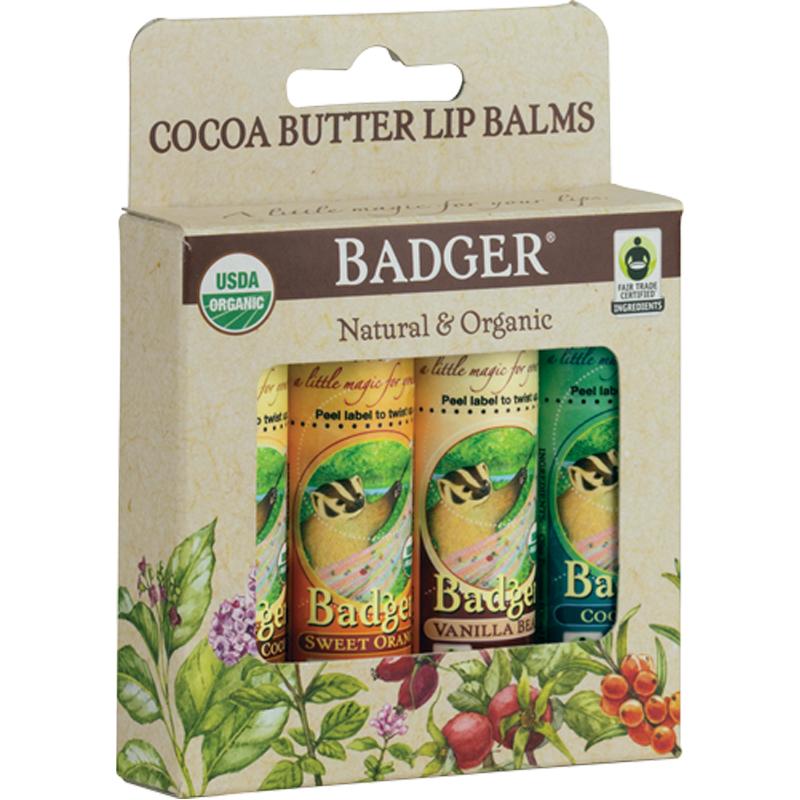 EarthHero - Cocoa Butter Lip Balm - 4pk 1