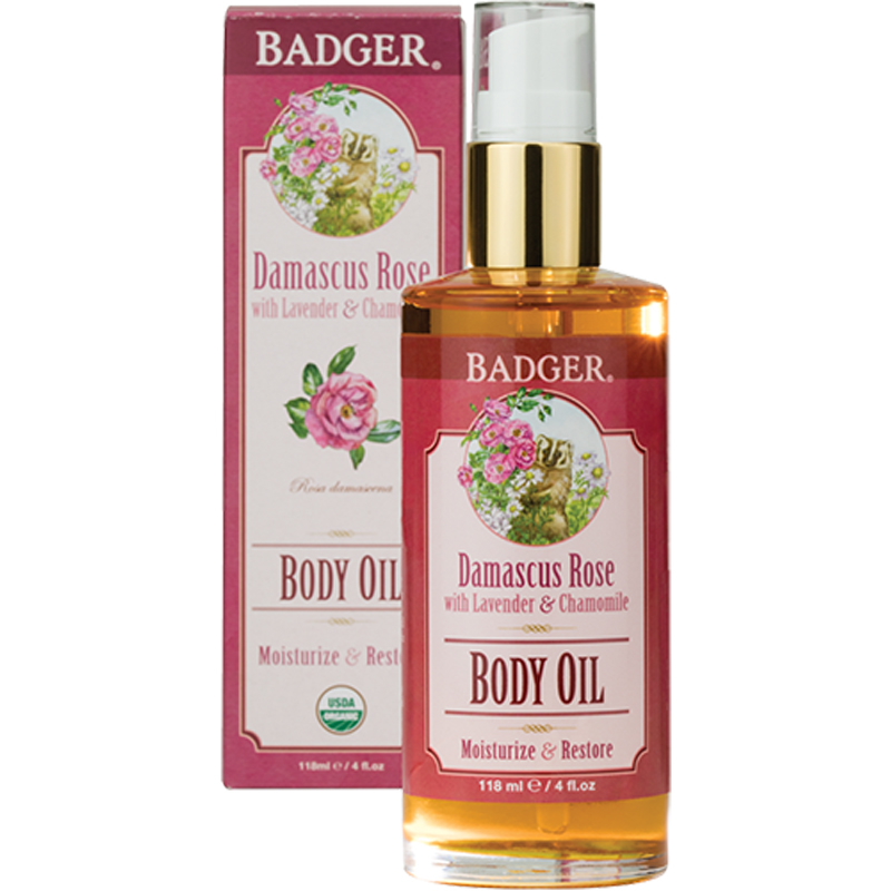 EarthHero - Damascus Rose Body Oil 4oz 1