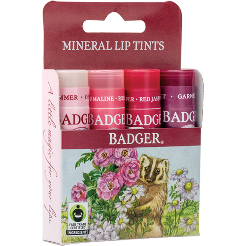 EarthHero - Mineral Lip Tint - 4pk 1
