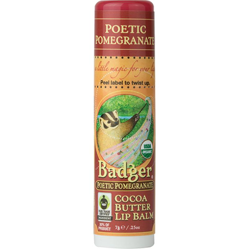 EarthHero - Pomegranate Cocoa Butter Lip Balm 1