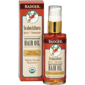 EarthHero - Seabuckthorn Hair Oil 2oz 1