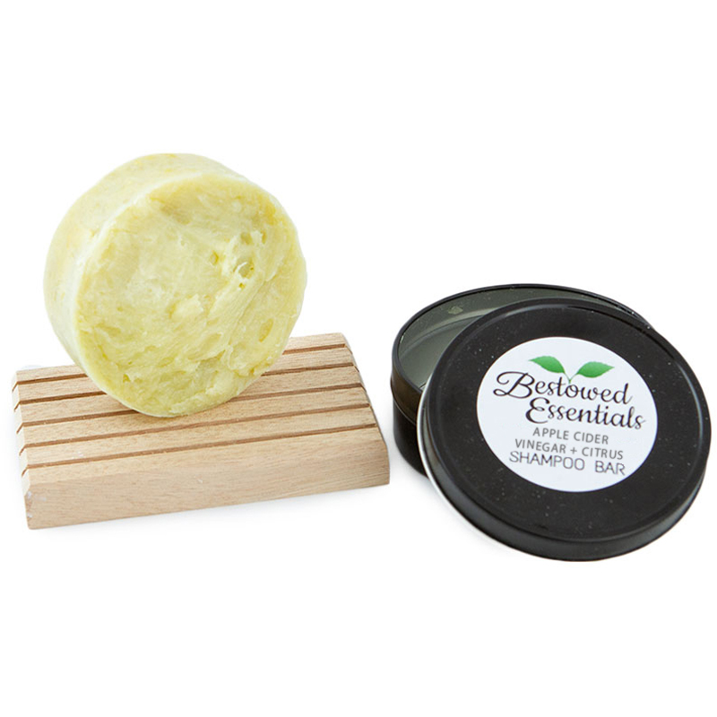 EarthHero - Apple Cider Vinegar & Citrus Shampoo Bar - 3