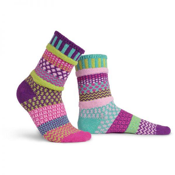 EarthHero - Dahlia Crew Cut Solmate Socks - 1