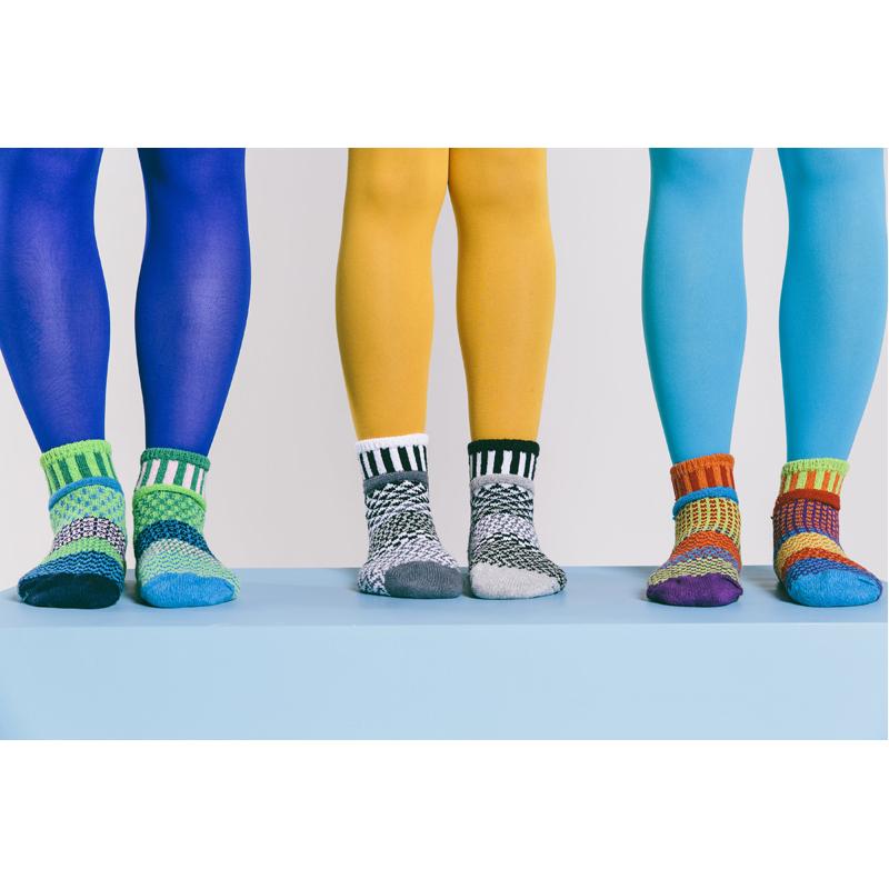 EarthHero - Midnight Crew Cut Solmate Socks - 5