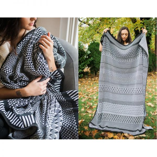 EarthHero - Midnight Recycled Cotton Blankets - 3