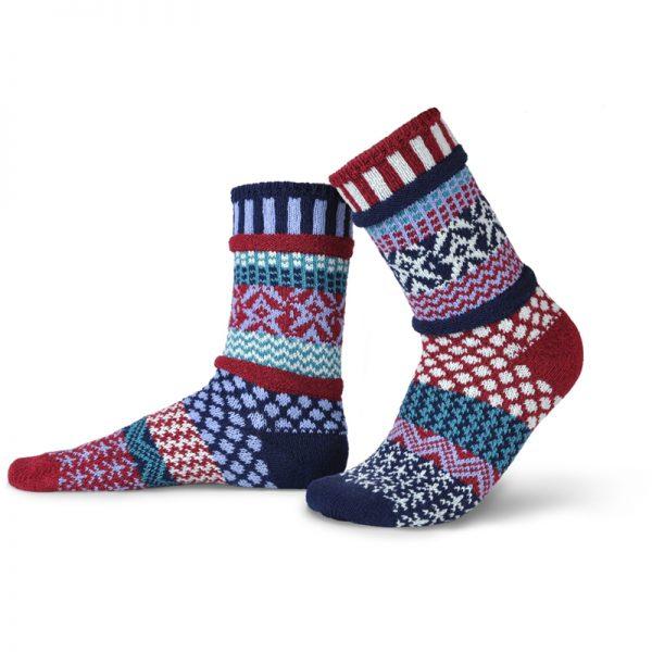 EarthHero - Stars & Stripes Crew Cut Solmate Socks - 1