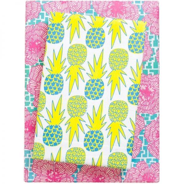 EarthHero - Hawaiian Pineapple Recycled Gift Paper (6pk) 1